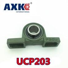 Горячая распродажа! стальные подшипники rodamitos Axk Ucp203 17 мм опорный подшипник с корпусом 1pce