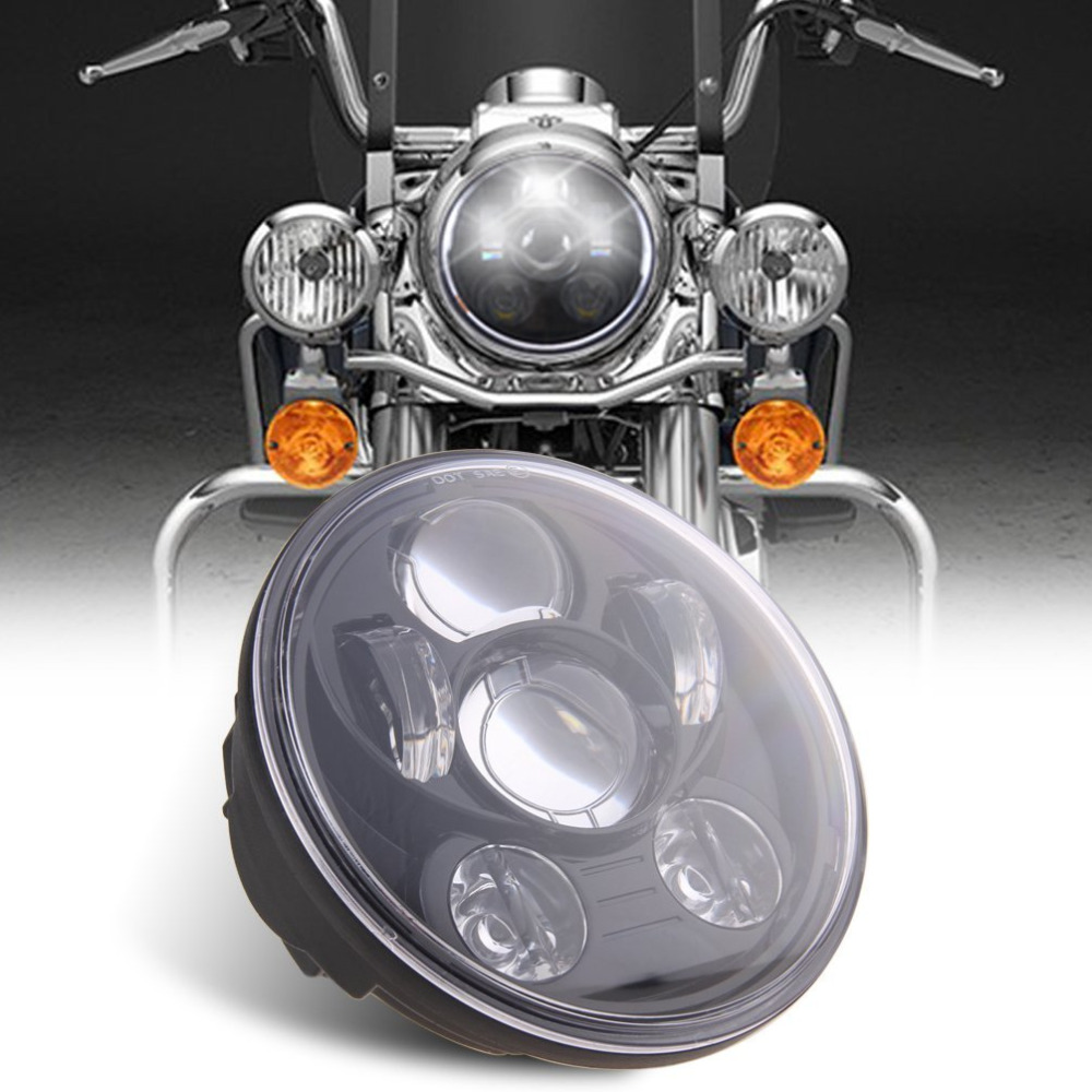 5 3/4 5.75inch LED Headlamp Headlight Motorcycle accessories for motorcycle Dyna Sporster 883