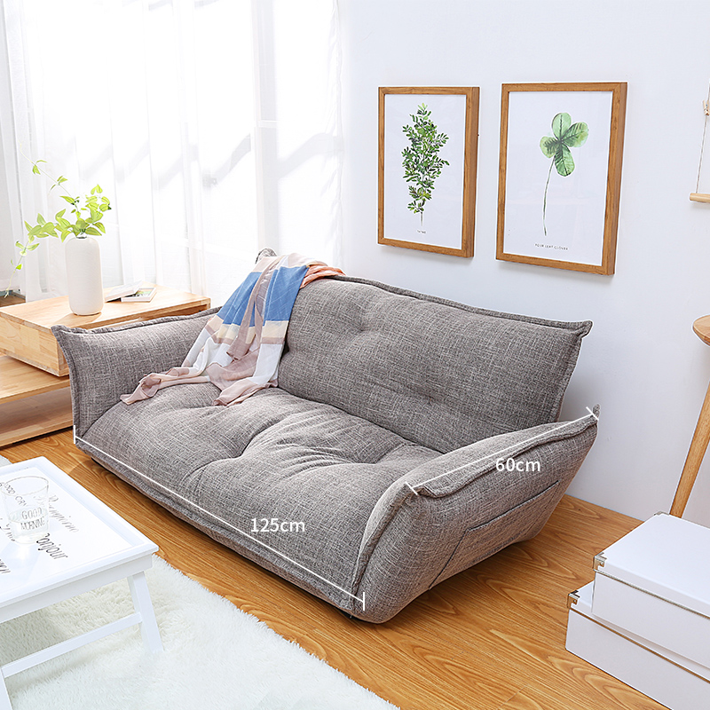 Y81 Modern Design Floor Sofa Bed Adjustable Sofa Plaid Japanese Style Furniture Living Room RecliningFolding Sofa with Pillow the jayhawks the jayhawks mockingbird time cd dvd