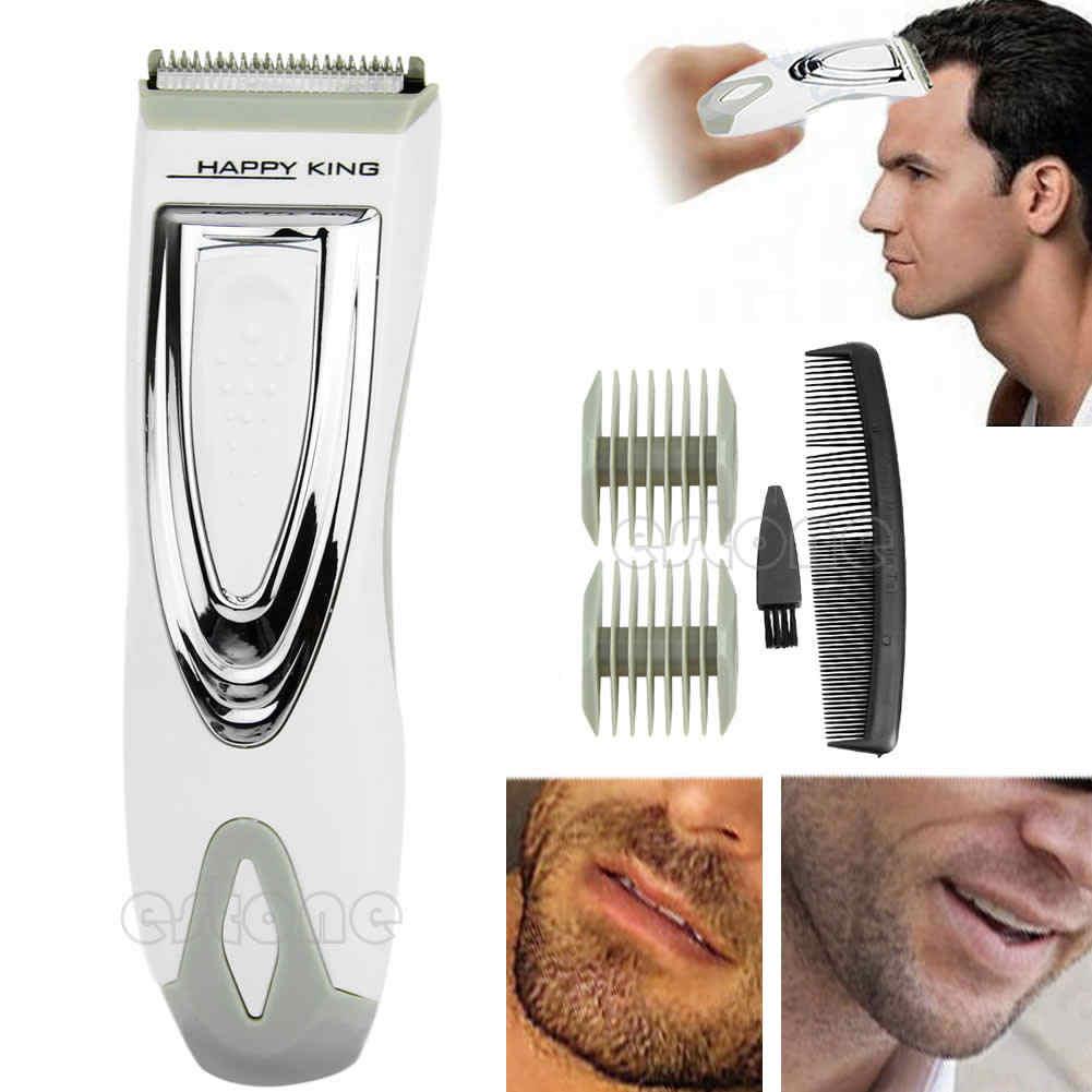 ファッション電気コードレス男性のシェーバーかみそり髭除去バリカントリマー