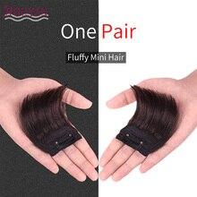 Прямые волосы HOUYAN, человеческие волосы, верхние накладки для волос, Длинные зажимы для наращивания волос, черные, коричневые накладные волосы для женщин