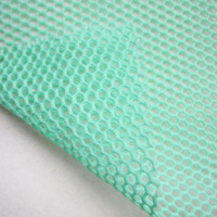 1Yard French Classic Honeycomb Mint Mesh Fabric Fashion Show High Quality DIY Apparel Sewing White Net Cloth Tissu Free Shipping