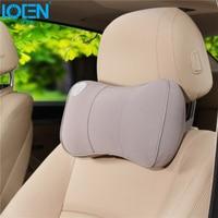 1PCS Car Bone Neck Pillow Driving Relaxation Memory Foam Travel Pillows Headrest Universal Cars Red Black