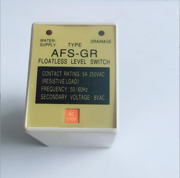 AC110V Electrical level controller AFS-GR level relay water level controller 8PIN AC110V Electrical level controller AFS-GR level relay water level controller 8PIN