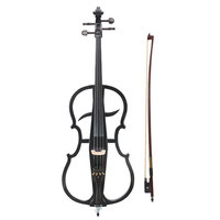 IRIN 4 4 M 02 Maple Wood Electric Cello With Cello Accessories