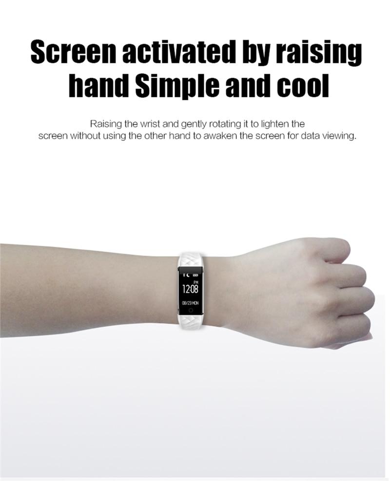 Smart Watch Naiste Meeste Fitness Smart Käevõru Band GPS Bluetooth - Meeste käekellad - Foto 6