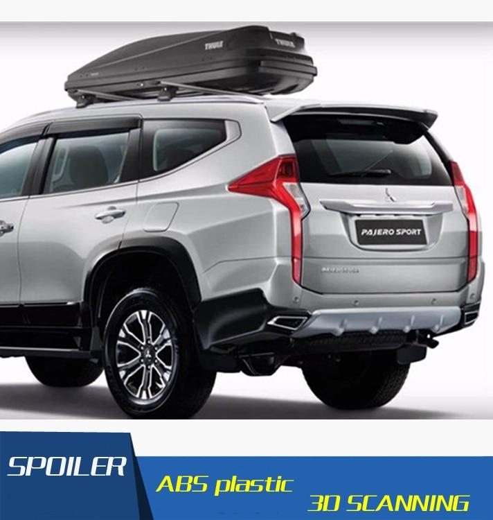 Mitsubishi Sport: For Mitsubishi Pajero Sport Spoiler ABS Material Car Rear