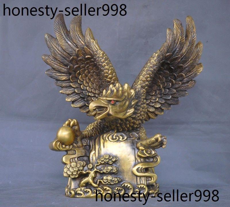 Sculpture, Flying, Lanneret, Brass, Halloween, Bird
