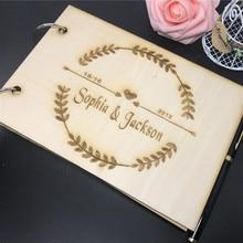 Персонализированная деревянная записная книжка для невесты, жениха, свадебной вечеринки, уникальные деревянные вечерние подарки