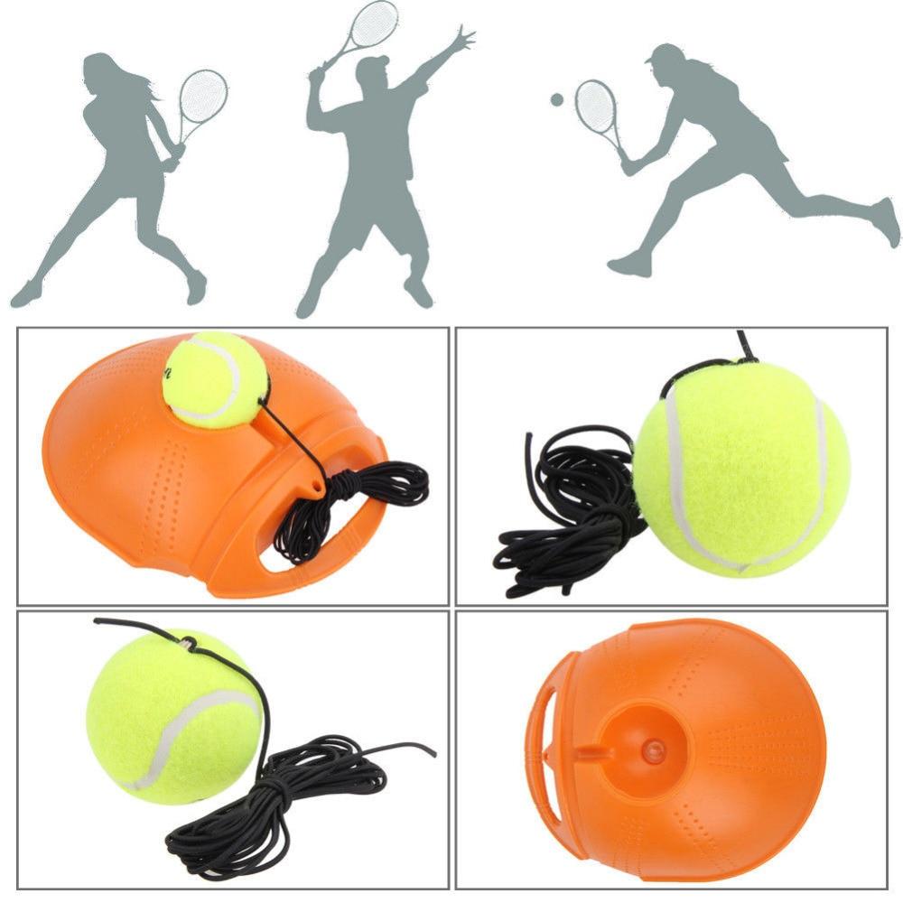 Tennis Training Tool Exercise Tennis Ball Self-study Rebound Ball Baseboard