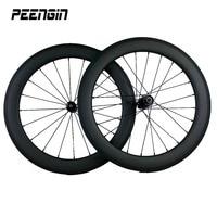 Mini small bicycle wheels 451 Full carbon wheelset with basalt brake suface 20er BMX V brake system DT 350s 240s hub Aero spoks
