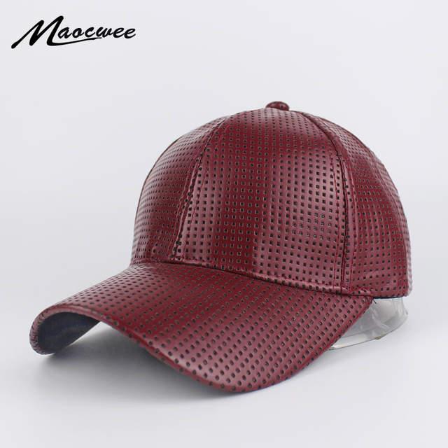 14c47c60dfa Fashion PU Breathable Warm Green Baseball Cap Women Black Hats for men  Trucker Cap Snapback Winter. placeholder ...