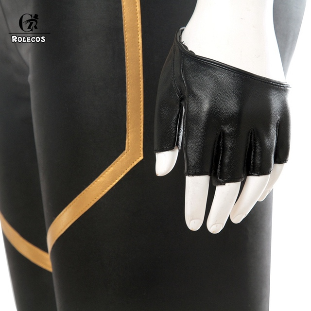 ROLECOS LOL KDA Cosplay Costume KDA Kaisa Cosplay Costume Game Kaisa Outfit Fullsets K/DA Group LOL Character Cos with Gloves 5