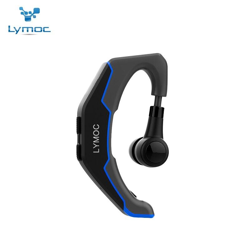 LYMOC Bluetooth Casques Sans Fil Écouteurs Conduite de Travail Sport Intra-auriculaires Antibruit Mains Libres Universel pour iPhone XiaoMi