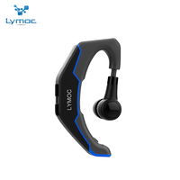 LYMOC Bluetooth Headsets Wireless Earphones Driving Working Sport Earbud Noise Cancelling Handsfree Universal For IPhone XiaoMi