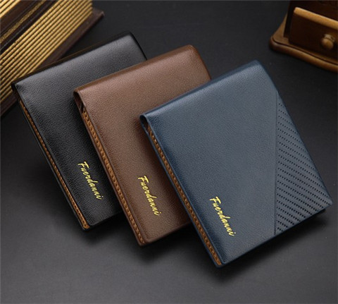 2015 fashion short card holder wallet best wallets for men coin pocket purse zipper with three - Best Card Holder Wallet