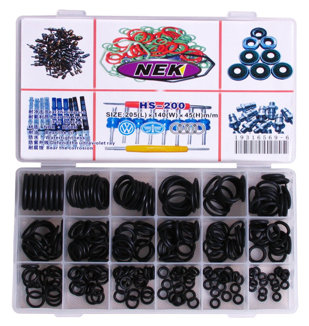 Free Shipping, Sealing ring O type circle, Automotive air conditioning o-ring seal A/C rubber o-ring seal