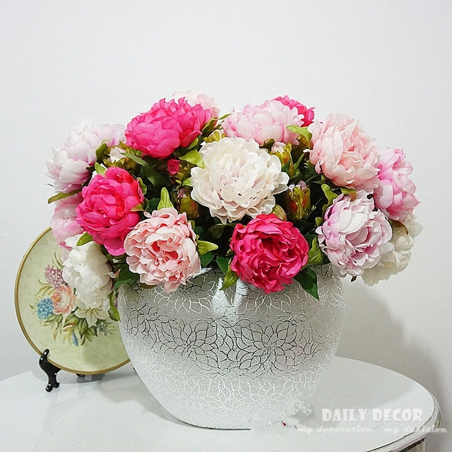 10pcslot wholesale nice fake small 2 heads peony flower 10pcslot wholesale nice fake small 2 heads peony flower artificial silk flowers for mightylinksfo