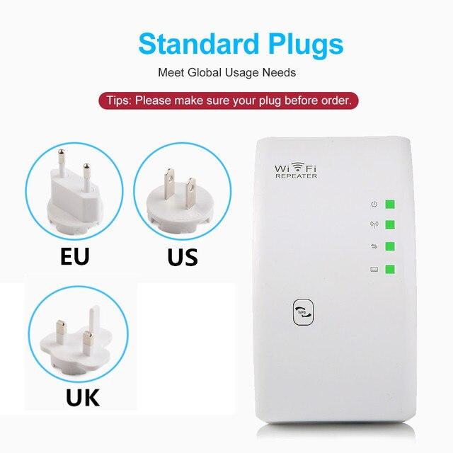 Répéteur Wifi sans fil 300Mbps wifi Extender longue portée répéteur Point d'accès wi-fi 802.11n/b/g amplificateur de Signal Wifi Booster 5