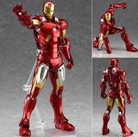 High Quality Iron Man 3 Action Figure Superhero Iron Man Tonny Mark PVC Figure Toy 16cm Christmas Gift 162