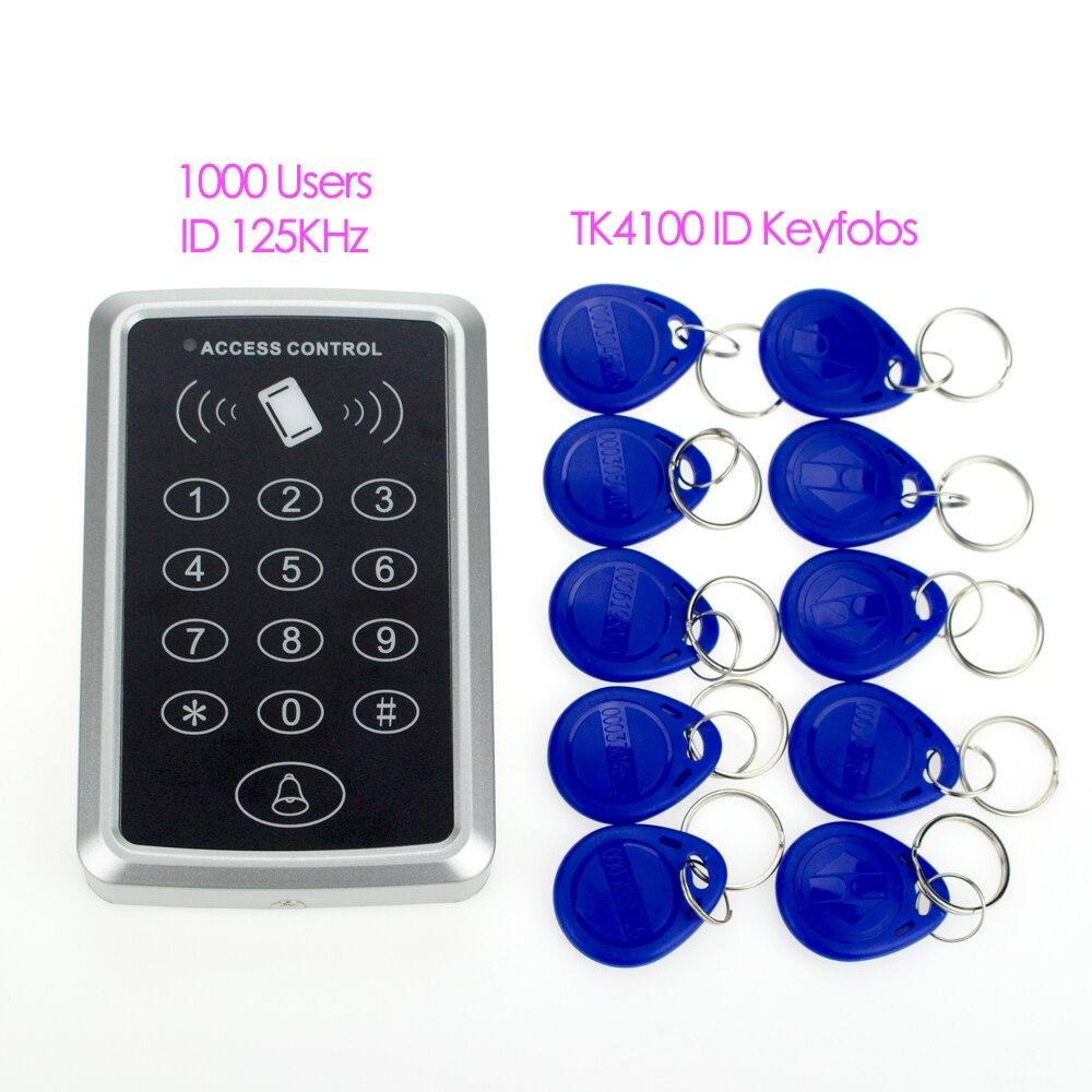 Buy keychain 125khz rfid card access for Door access controller