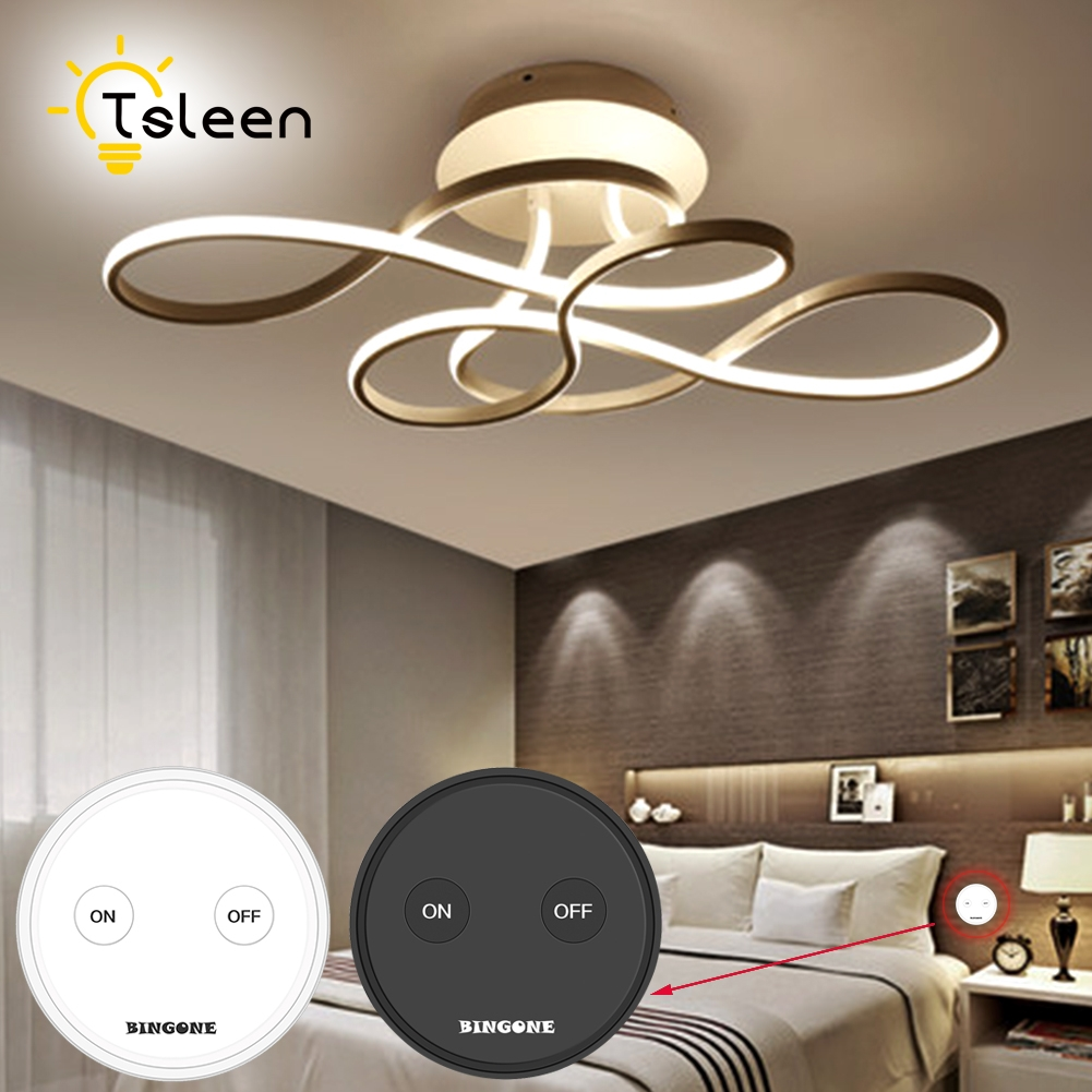 TSLEEN Magic 30m/100ft 1 Channel RF Wireless Light Wall Switch Smart Home Controller 110V/85-265V 300W For SmartLife Home Office in home rg4 1630 smart 30m 8863 4690612010588