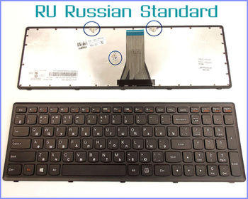Russian RU Version Keyboard For Lenovo V-136520PS1-US 25211050 25211020 25211080 25211028 T6E1-US Laptop with Frame