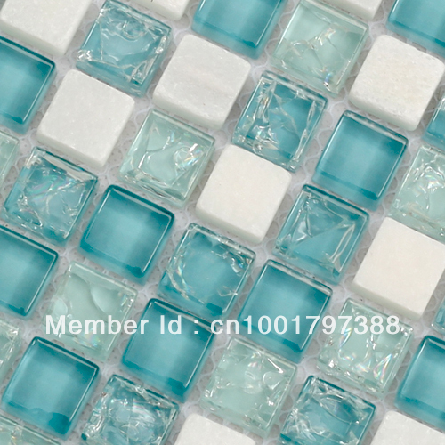 blue mosaic bathroom tiles white marble mosaic kitchen tiles glass mosaic tile 17468