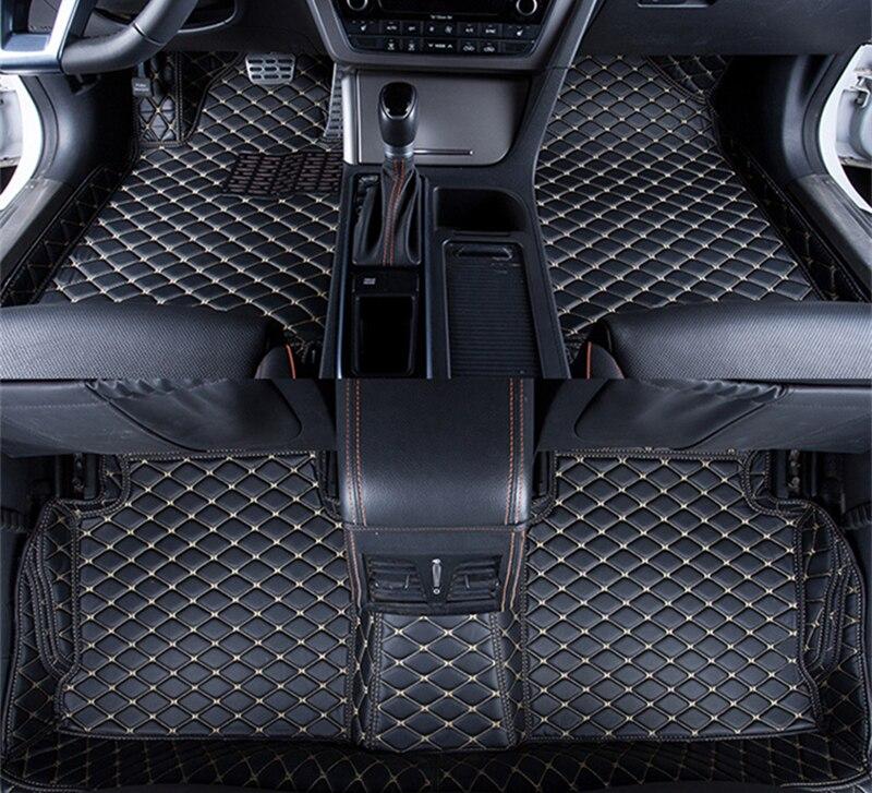 For Volkswagen Passat Beetle Tiguan Touareg Scirocco Car Floor Mat Front&Rear Liner Waterproof Mat Car Accessories Carpets
