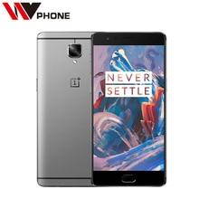 "Original Oneplus 3 A3000 Mobile Phone Snapdragon 820 Quad Core 5.5"" Android 6.0 Smart Phone 6G RAM 64G ROM 16MP Fingerprint NFC"