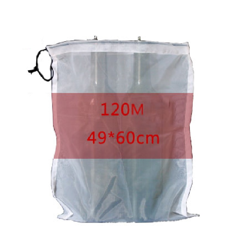 Mesh Bag Wine Filter Bag Food Grade 120/200/300 Mesh Bag For Home Brewing Wine Making Used For Juice Making