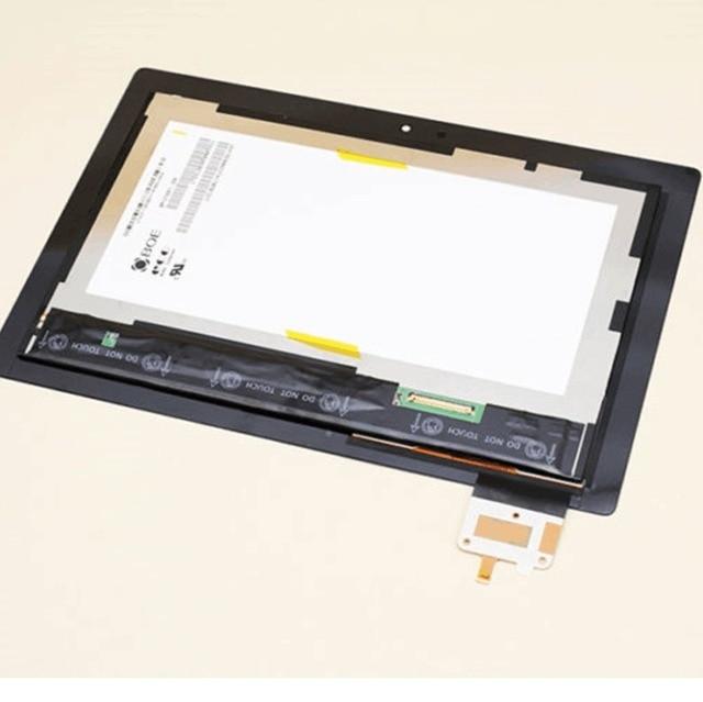 עבור LENOVO IDEATAB S6000 S6000 F LCD תצוגה עם מסך מגע DIGITIZER עצרת