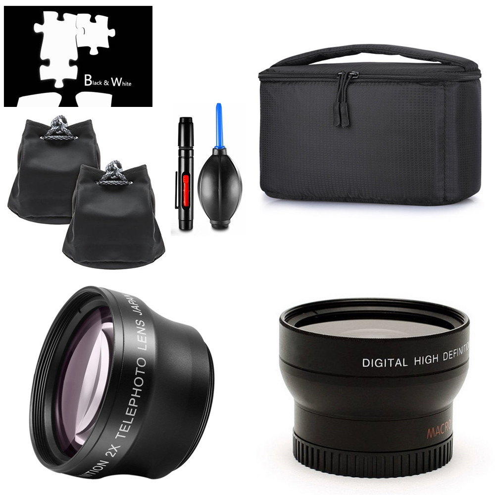 Big Offer #3408 37mm Wide Angle & Telephoto Lens Partition