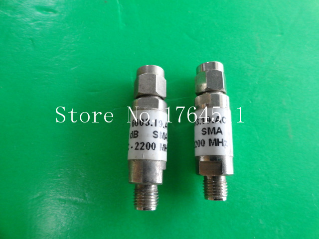 [BELLA] H+S 6603.19.AC DC-2.2GHz 3dB 2W SMA Coaxial Fixed Attenuator  --5PCS/LOT