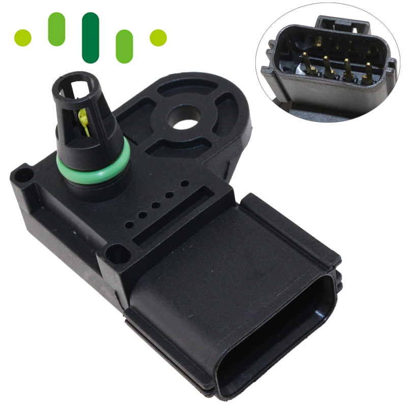 1S7A-9F479-AB 1 Bar Intake Manifold Pressure Absolute MAP Sensor For Ford C-MAX Focus S-MAX Mondeo Transit Focus Galaxy 1.8 2.0 gorst car automobiles intake exhaust pressure sensor for ford focus galaxy jaguar xj land rover mazda 3 volvo 3m5a 5l200 ab
