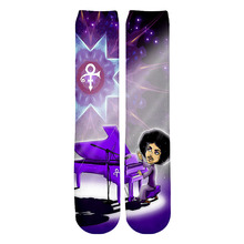 PLstar Cosmos 2019 New Autumn Winter Womens Mens 3d Socks Singer Prince Printed Sock Women Men Rick And Morty Printing