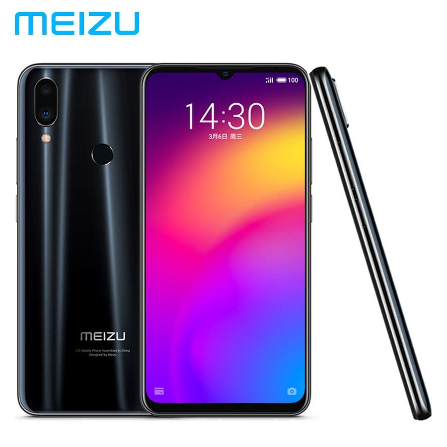 Original MEIZU Note 9 LTE 4G Mobile Phone 48MP+5MP 6GB 64GB Snapdragon 675 Octa Core 6.2inch 1080x2244p 4000mAh Battery Dual SIM