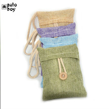 Car Use Bamboo Charcoal Bag Formaldehyde Odor Absorbing Car Deodorant Air Purifying Activated Carbon Bag