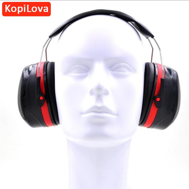 bilder für KopiLova Professionelle Lärmminderungs Gehörschutz Headsets Gehör Schutz Ohrschutzkappe Schießen Jagd Schlafen Ohrenschützer