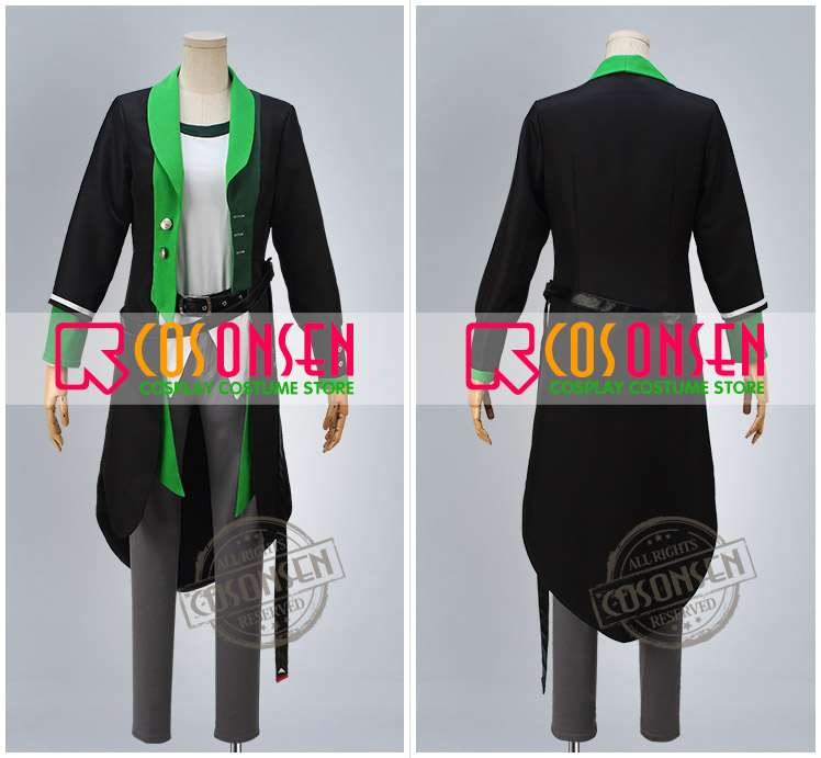 Tsukiuta The Animati YAYOI HARU Cosplay Costume Custom Any Size