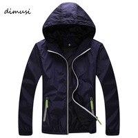 DIMUSI Quick Dry Men Windbreaker Skin Coat Sunscreen Waterproof UV Mens Army Outwear Ultralight Windbreake Jacket