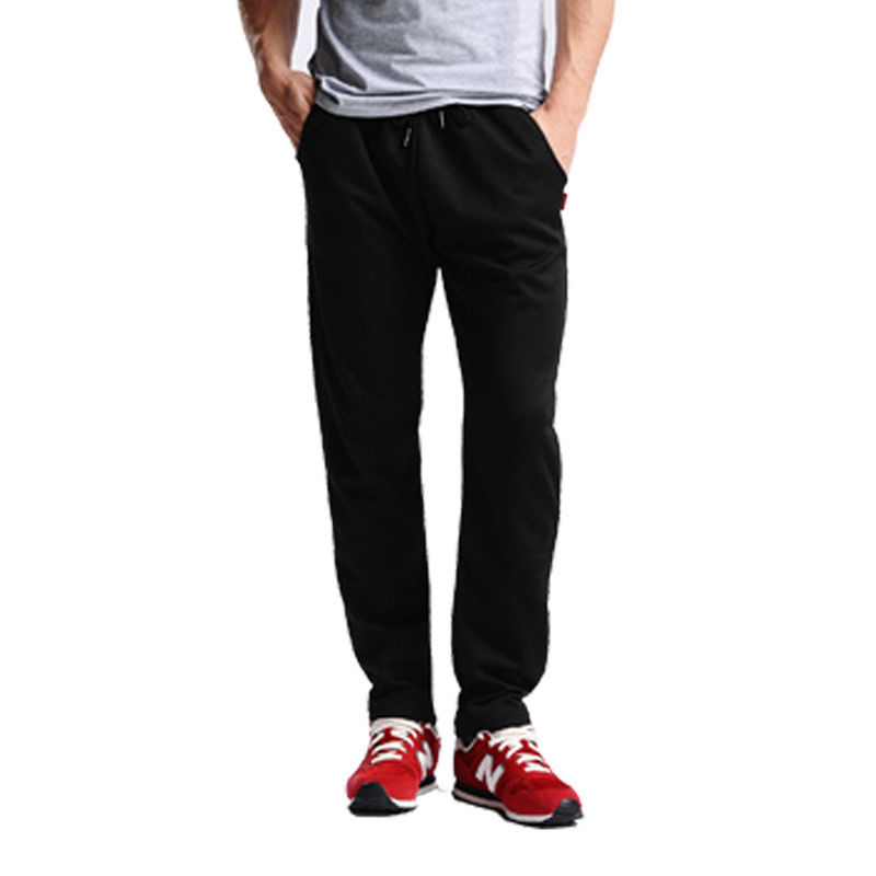 New Arrival Mens Casual Pants Lace Up Waist Loose Straight Sweatpants Sport Trousers Casual Pants For Men