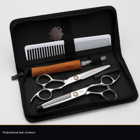 High Quality Professional 6inch Straight Thinning Pet Scissor Dog Grooming Shear Clipper Hair Cut Tool