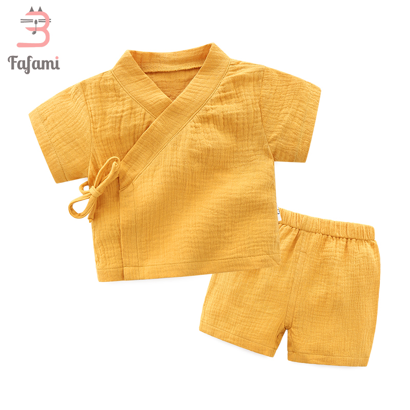 Baby Clothes Tiny Cotton Crepe Baby girl set boy clothing for Newborn summer Babies Boy Girl tops shorts bebek kids baby costume