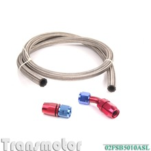 car styling 10an Turbo Steel Braided Oil Return Drain Line 10 Universal Turbocharger Hose Oil Filter Sandwich adapter