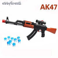 Abbyfrank AK 47 Toy Gun Paintball Water Bullet Pistol Gun Soft Bullet Orbeez Water Gun Crystal