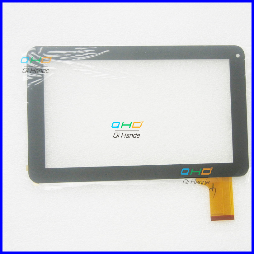 (Ref: MF-358-090F-7 FPC ) Black New 9 inch touch screen panel touch digitizer for tablet PC MID Free Shipping