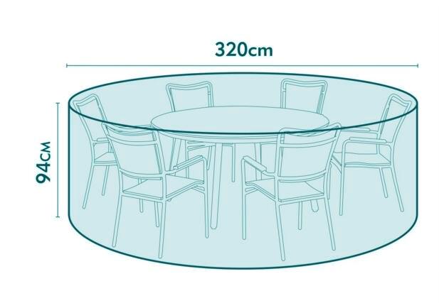Ավելի մեծ չափսի Կլոր պաշտպանիչ ծածկ, - Տնային տեքստիլ - Լուսանկար 1