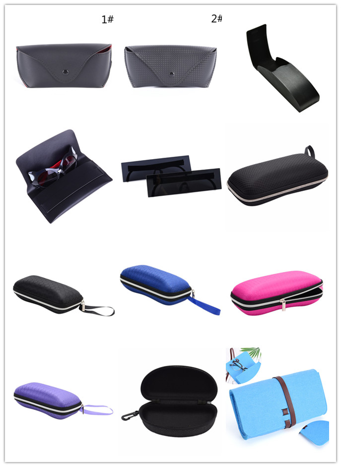 Multi Style Glasses Case Box Multi-Functional Glasses Dust Scratch-proof Waterproof Portable Eyewear Carry Bag Container Hot