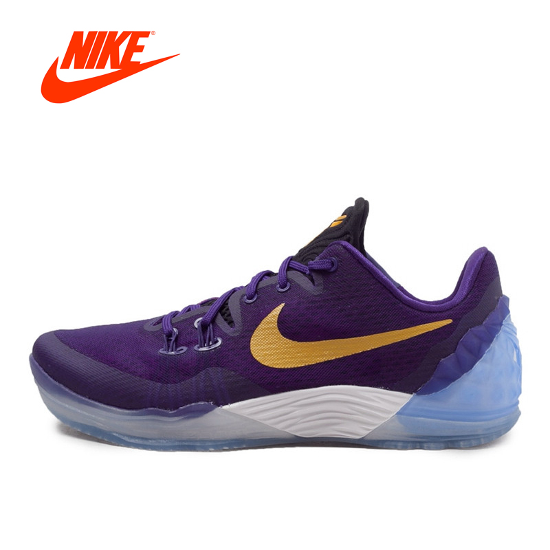 Authentic New Arrival Original NIKE ZOOM Men's Breathable Basketball Shoes Sneakers Non-slip sport shoes original new arrival nike zoom speed tr3 men s walking shoes training shoes sneakers